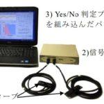 意思伝達装置「新心語り」の開発に 当院の患者さんがご協力しています