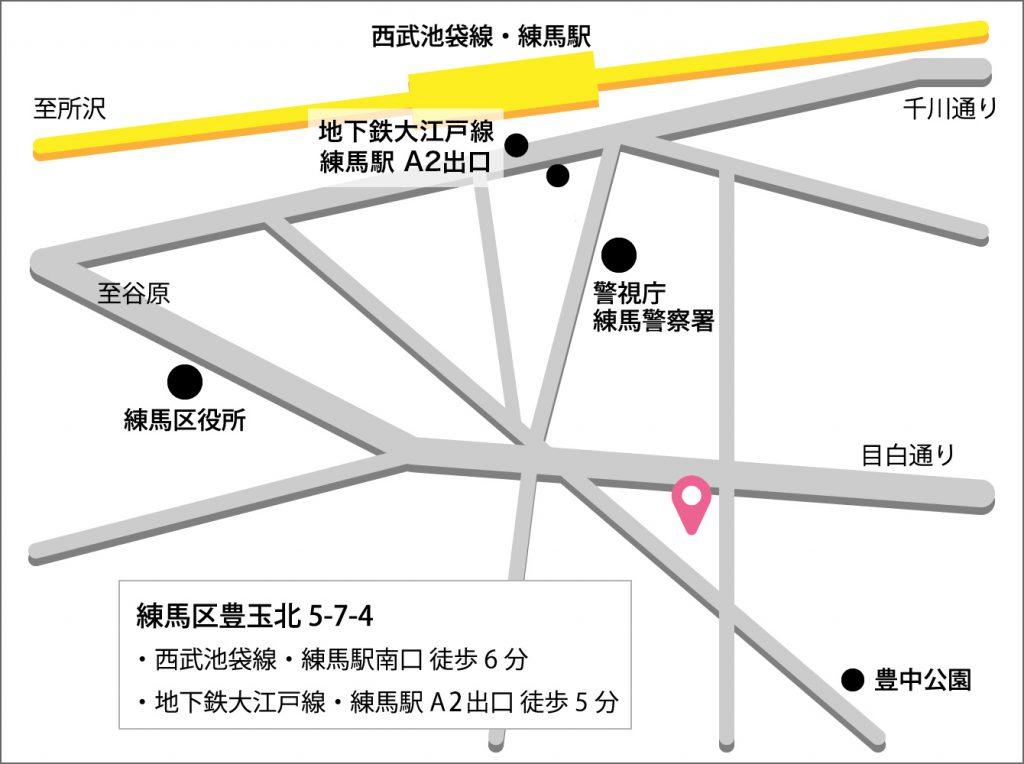 練馬分院地図